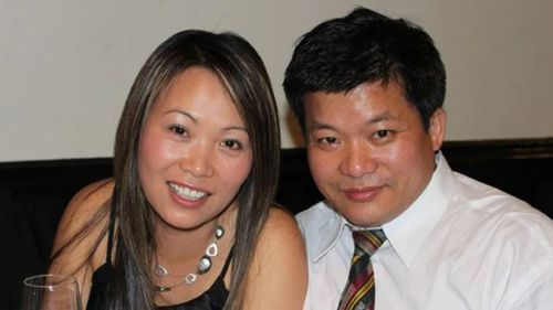 Hoi-Sam Lau (right) died during the 2016 thunderstorm asthma event. His widow Ela Voong has now launched legal action.