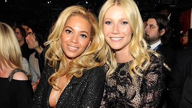 "One seems so cool and American while the other seems so stuffy and faux English, but Beyonc&#233; says of Gwyn: ""She is incredible, she's a great friend on every level."" <br/><br/>The pair were introduced to each other by their husbands rapper Jay-Z and rocker Chris Martin - who are also unlikely BFFs!<br/><br/><a href=""http://celebrities.ninemsn.com.au/antibullying"">Want to win an iPad? Take our quiz!</a>"