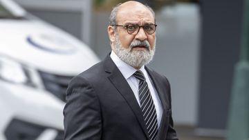 Dr Ramin Harirchian arrives at the Brisbane District Court in Brisbane, Monday, November 25, 2019