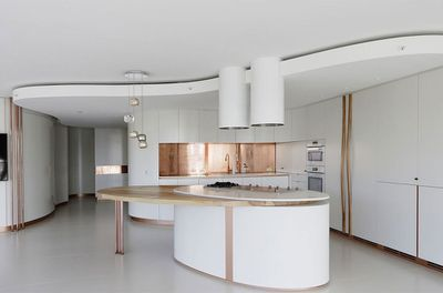 Fluid Apartment by ArchitectureSavilleIsaacs