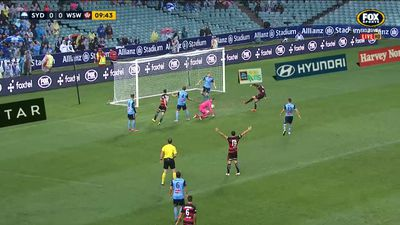Western Sydney Wanderers fans risk punishment after lighting flares at Sydney FC derby