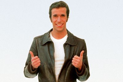 """<B>What's the story?:</B> This was the stock phrase of the leather jacket-wearing bad boy in the squeaky-clean family sitcom <i>Happy Days</i>. The Fonz was meant to be a minor """"bad influence"""" character, but his popularity and ability to start a jukebox by thumping it meant he soon overtook the intended cool character, Potsie, in the main cast.<br/><br/><B>When to use it:</B> After effortlessly doing something supremely cool.<br/><br/><B>When not to use it:</B> After performing a water-ski jump over a live shark."""