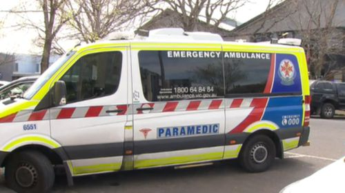 Emergency services were called to the Williamstown home about 12pm.