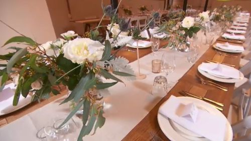 The wedding, which was 18 months in planning, was cancelled at the last minute today. (9NEWS)