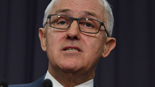Prime Minister Malcolm Turnbull has threatened to trigger gas export controls (AAP Image/Lukas Coch).
