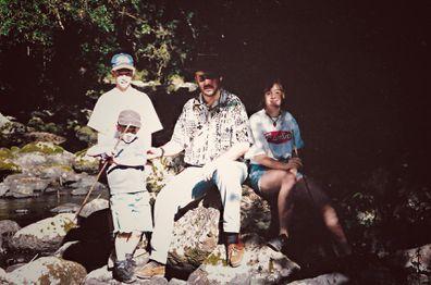 Monica Higgins, family photo