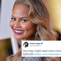 Chrissy Teigen pledges to help bail out protesters