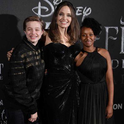 Angelina Jolie And Brad Pitt S Children Through The Years