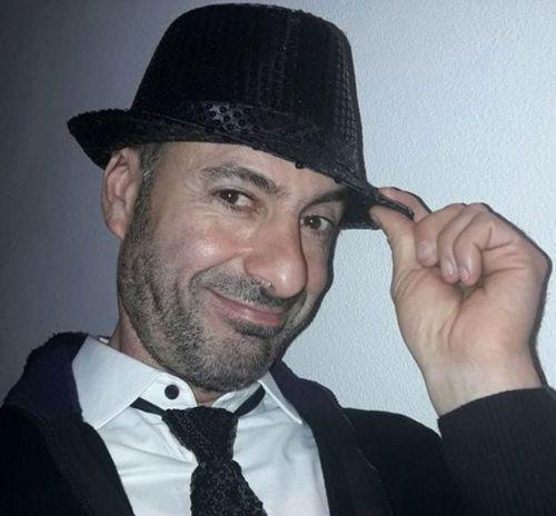 Andrea Cerulli, 47, a keen amateur footballer.