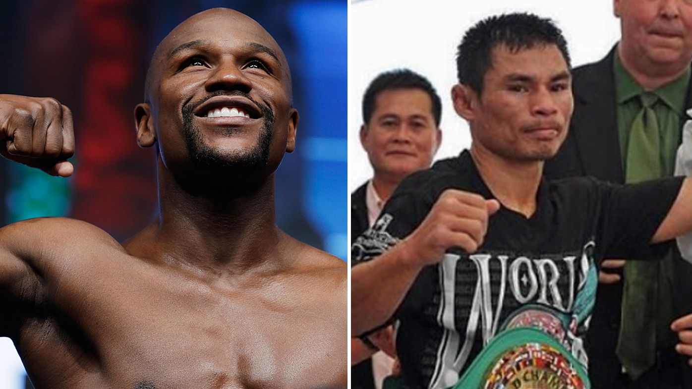 Floyd Mayweather Jr and Wanheng Menayothin