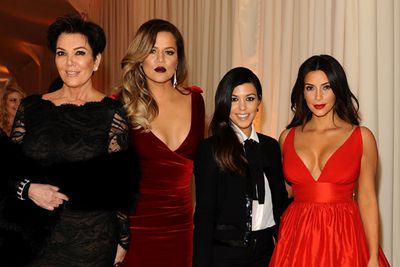 """""""I look at them and I just think 'check please, sign me out!'"""" <br/><br/>- Khloe on her family<br/><br/>Image: Getty"""