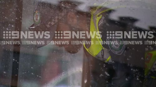 It is understood the bus driver stopped his vehicle as soon as it happened. Picture: 9NEWS