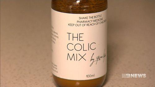 """Peter Litas' """"The Colic Mix"""". (9NEWS)"""