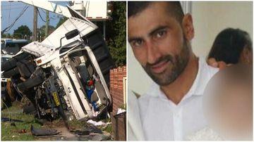 Truck driver denies fleeing power pole crash