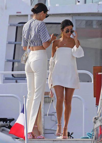 Kourtney Kardashian in C/Meo Collective
