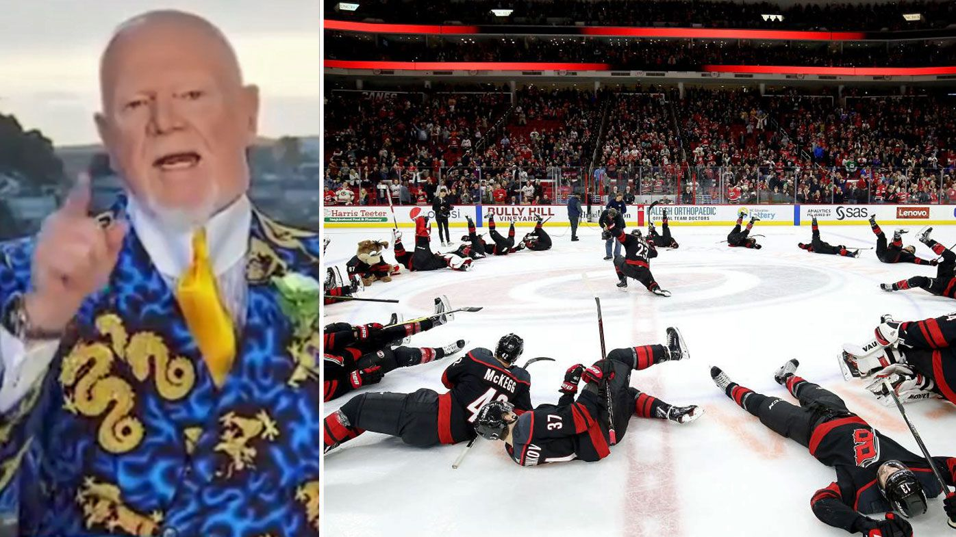 Carolina Hurricanes' classic response to being called 'jerks' by iconic NHL commentator Don Cherry