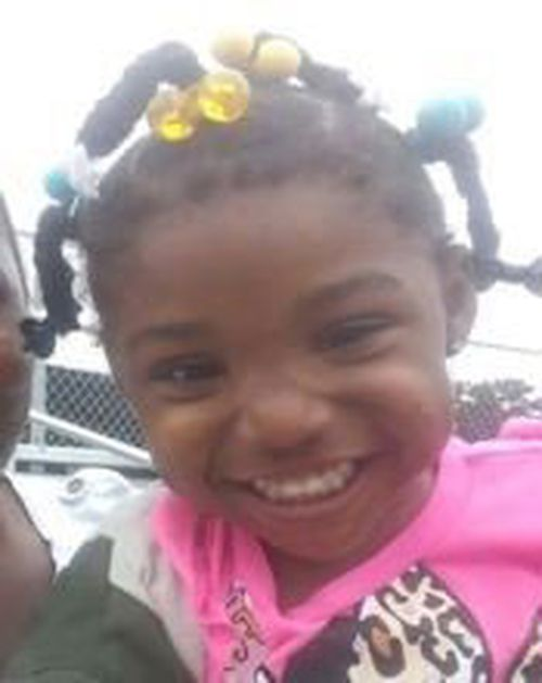 Three-year-old Kamille McKinney went missing while played outside her family's housing complex.