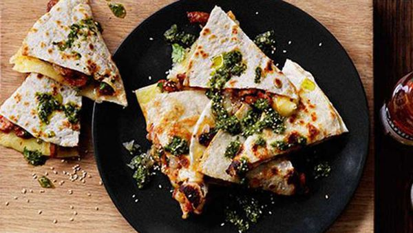 Blackjack quesadillas