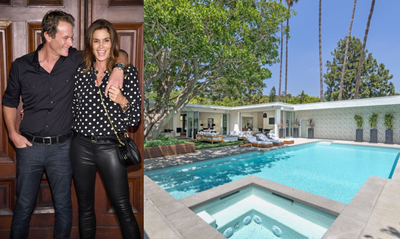 Supermodel Cindy Crawford and hospitality magnate Rande Gerber have snapped up a single-level contemporary in a private, luxury enclave of Beverly Hills.