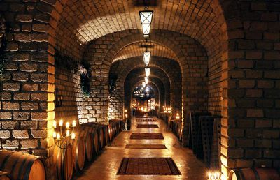 5. Stocked wine cellars with 30-year-old Bordeaux and fifty-year-old whisky