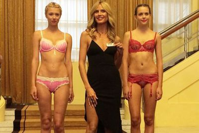 """Myer also documented Heidi's in-store visit on its Instagram page. <br/><br/>@myer: """"We had a great morning at an exclusive @heidiklumintimates Q&A with @heidiklum at @myermuralhall! #heidiatmyer #myermelbourne #heidiklumintimates"""""""