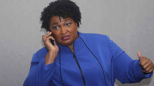 Georgia gubernatorial candidate Stacey Abrams could be the first black woman elected governor in the United States.