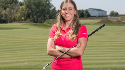 The 22-year-old was stabbed and left dead in a pond on the golf course before her body was found by fellow players.
