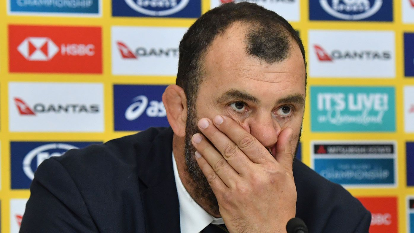 Cheika understands abusive fan's frustration: 'He wants us to win badly. Sometimes that goes pear-shaped'