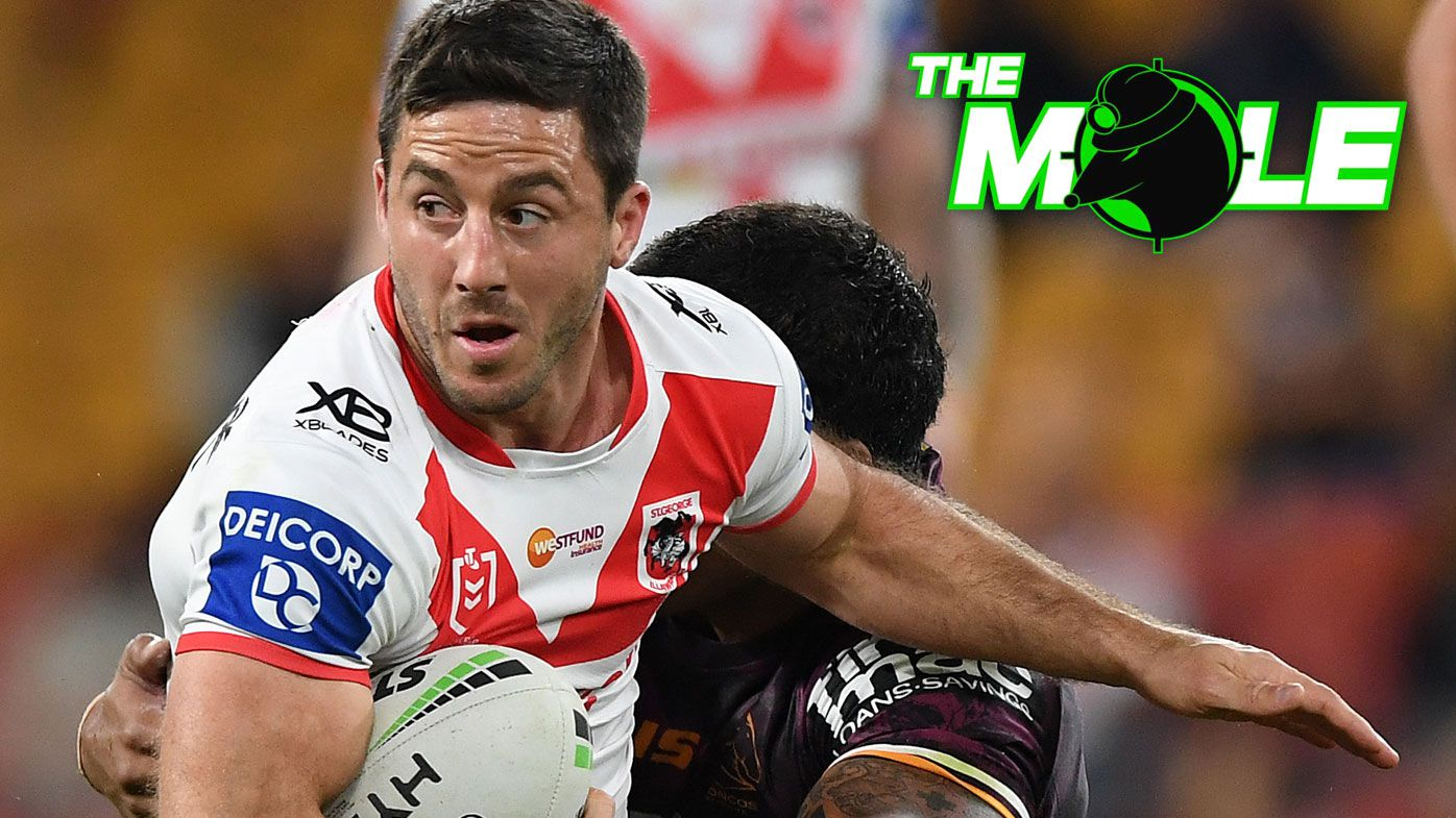 The Mole: Ben Hunt's chance to reclaim Dragons No.7, Cowboys block half's club switch