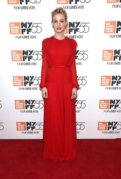 Carey Mulligan chose the same Italian designer. Soft, sweet and somehow a little sexy.