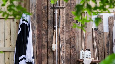 Incredible outdoor showers for lovers of rustic luxury