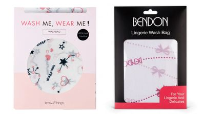 Lingerie wash bags can help keep your bras in perfect condition.