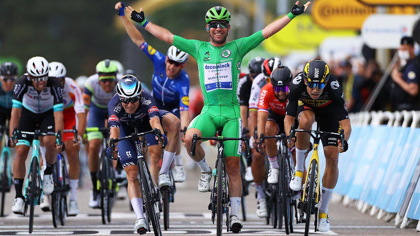 Tour de France 2021: Mark Cavendish wins stage 10, Aussie Ben O'Connor second overall