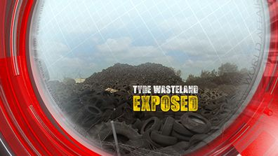 Tyre wasteland