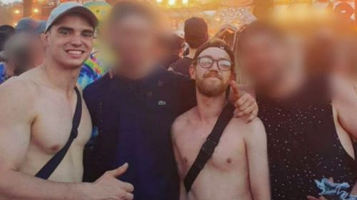 Liam Anderson and Mathew Flame had been to a music festival together that day.