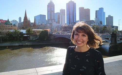 Gitta fell in love with Melbourne and decided to settle in the city with her partner.