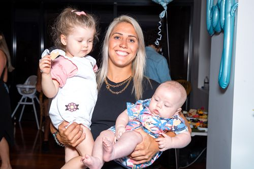 The 28-year-old has a close relationship with her nieces and nephews. Katrina Gorry