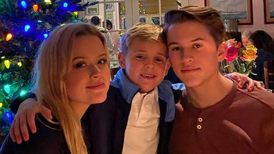 Reese Witherspoon's daughter Ava and sons Deacon and Tennessee.