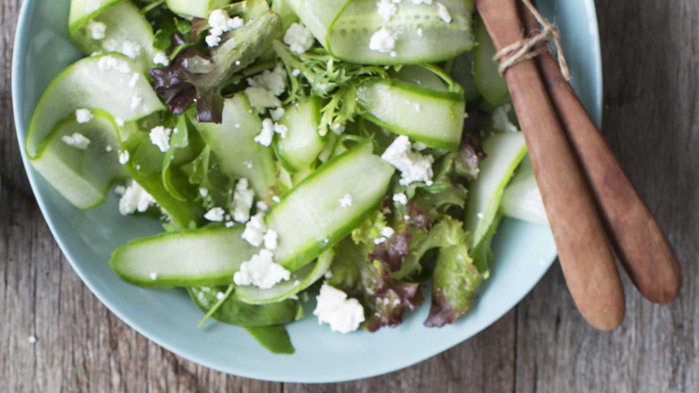 Green Salad With Feta 9kitchen