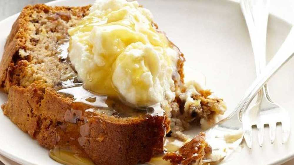 Curtis Stone banana bread