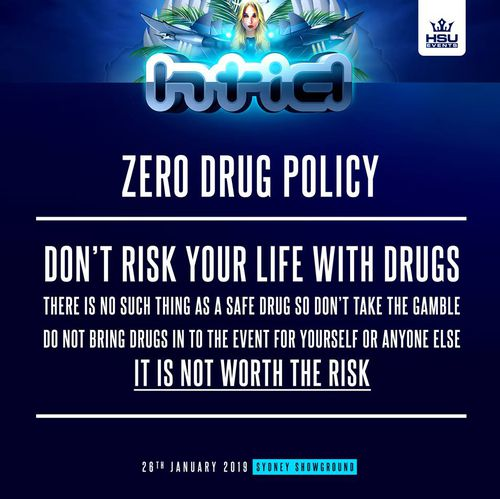 Organisers have circulated a number of posters encouraging revellers to look after each other and to make safe decisions.