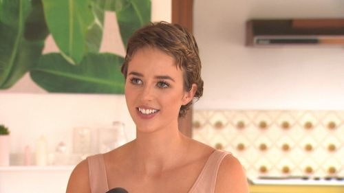 At just 23, Georgia McLennan could never have imagined that she would have cancer. (9NEWS)