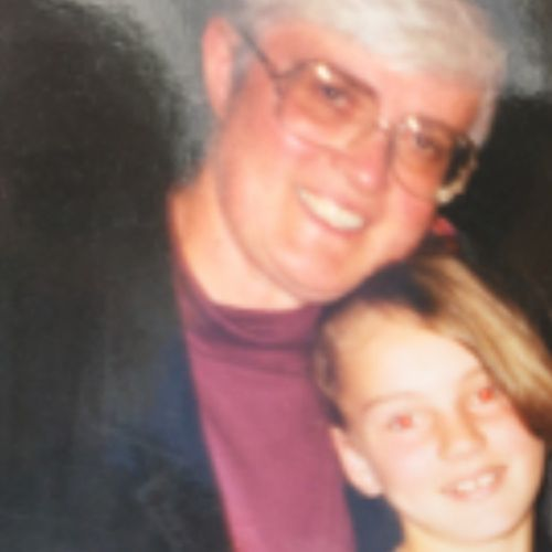 Cherie and her foster mother, Frances Schulz. (Supplied)