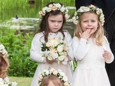 Grumpy bridesmaid royal wedding