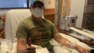 Jason Garcia has donated his plasma to help others fight COVID-19.