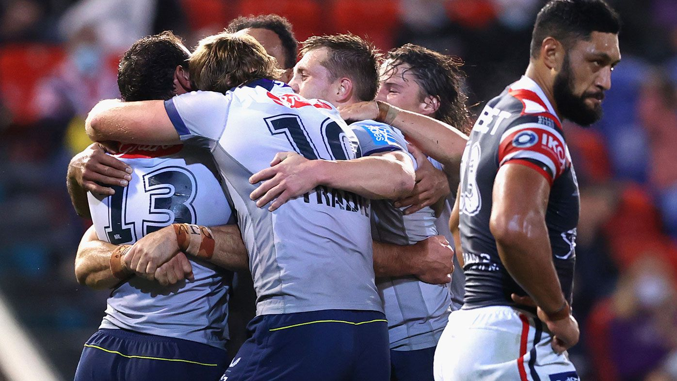 Storm have the Roosters by the throat.