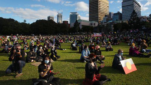 Black Lives Matter protest, Sydney