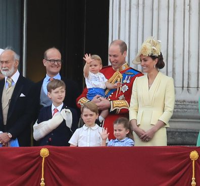 Trooping the Colour Prince Louis