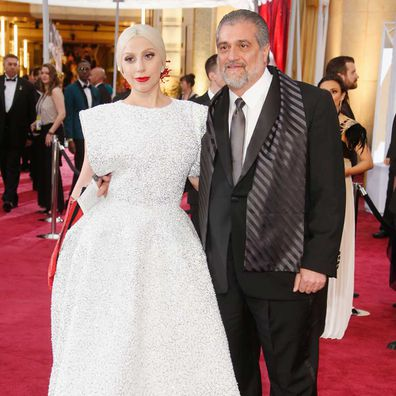 Lady Gaga and Joe Germanotta.