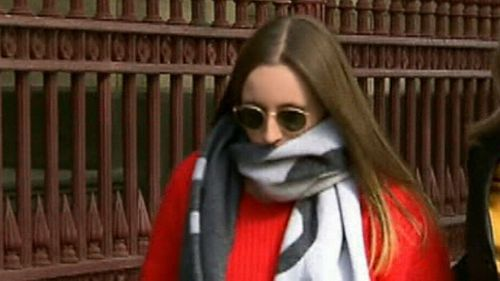 Sarah Ristevski was in court for the sentencing.